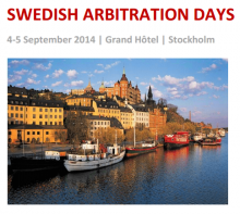 Старший юрист АБ КИАП Ирина Суспицына приняла участие в работе Swedish Arbitration Days 2014